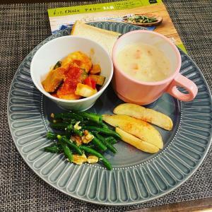 冷凍kitoisix。ぷりぷりえびと彩り野菜のスパイシー炒め。