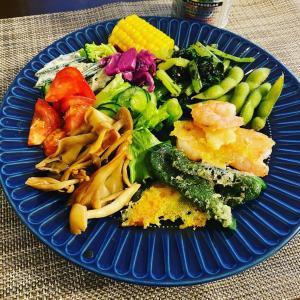 野菜モリモリ~。