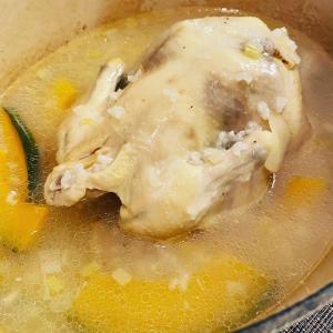 おうちで参鶏湯~。