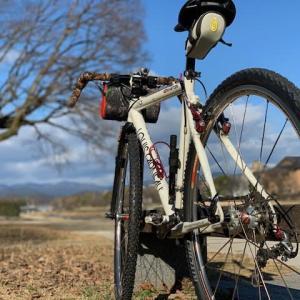 今日は やっぱりシクロクロスバイク 「ルイガノ号」 ~賀茂川で稽古納め~