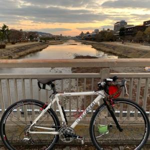 今日は やっぱりシクロクロスバイク 「ルイガノ号」 ~初詣は足腰の神さん~
