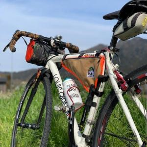 今日は やっぱりグラベルロードバイク 「ルイガノ号」 ~早春の大原 お土産は「おはぎ」~