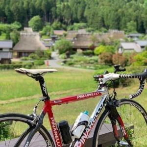 今日は,ロードバイク日和「ピナレロ号」 ~自粛解除で美山へ~