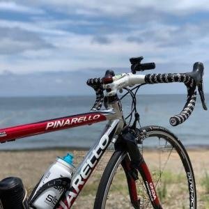 今日は やっぱりロードバイク 「ピナレロ号」 ~久々の琵琶湖へ 今日は「うみ(淡海)の日」 琵琶湖の日~