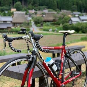 今日は やっぱりロードバイク 「ピナレロ号」 ~真夏の美山 ランチは「田歌舎」のジビエ~