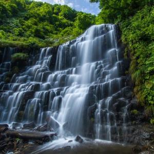 久々に檜山滝と袖川プチ探検