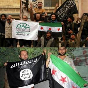 """シリア軍 アルヌスラ戦線を 削除""""排除""""。 シリア国営 SANA"""