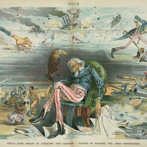 """アメリカ合衆国 フェイクニュースの歴史 米西戦争""""アメリカ スペイン戦争"""" 1898~"""