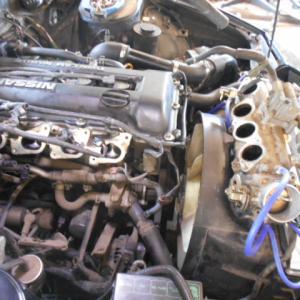 180SX(RPS13)冷却水漏れ修理(後編)