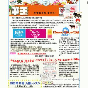 ぱそべるたより2020年11月127号配信~PC購入補助金申請とgotoお手伝い~