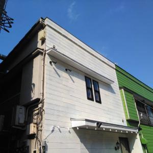 店舗塗装 塗装職人だからできる複合的な塗装工事