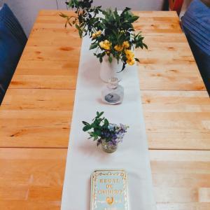 [初夏っぽいテーブルコーデ] ニベア缶とカフェタナカ