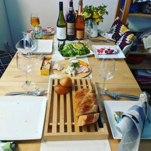 [Kkcafeで飲んで食べて☆]ヘルシーメニューとワインとドルチェ