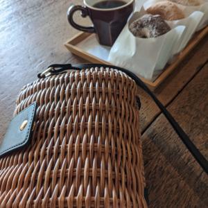 [しまむらでお買い物]お持ち帰り必須☆カゴのショルダーバッグが可愛すぎる!