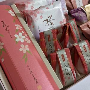 [源吉兆庵の本格和菓子] 桜の和菓子と初夏のゼリー