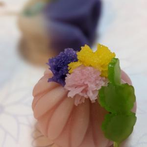 [繊細で美しい和菓子の世界]銀座三越 菓匠花見の上生菓子は感動レベル