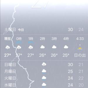 iPhone 天気