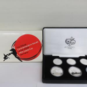 2006 FIFA ワールドカップ ドイツ大会公式記念コイン 銀貨6種セット 買取させていただきました!