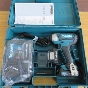 マキタ 充電式インパクトドライバ TD110DSHX 買取させていただきました!