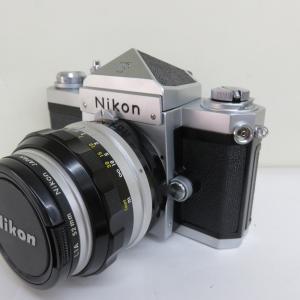 ニコン Nikon カメラ F 50mmレンズ付 買取させていただきました!