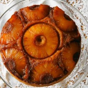パイナップル アップサイドダウンケーキ