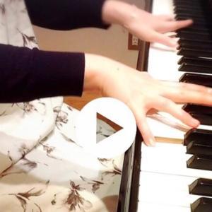 レッスンと、暗譜と『タマゴの手』(一年前の記事より)
