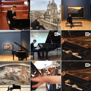 最近気になるピアニスト。−今日はレッスン−
