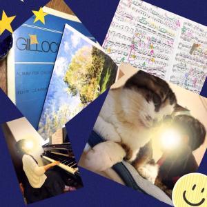 【10月piano lesson②(4)】楽譜製本。−最近のひめこなど−