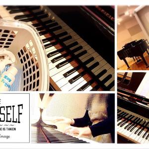 4カ月ぶりのひとり音楽室練習✨✨