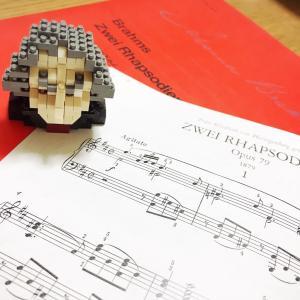 【5月ピアノレッスン⑤】発表会曲、ブラームスラプソディレッスン−動画アリ−
