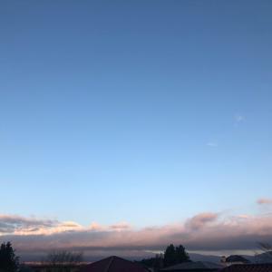 12月9日 朝の空