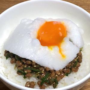 ☆ふわふわ卵かけ納豆ご飯