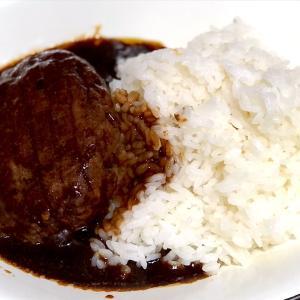 6月14日 夕食 ☆ハンバーグライス