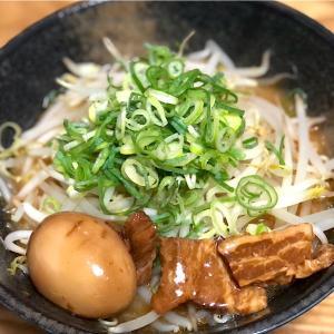 9月18日 夕食 ☆味噌ラーメン