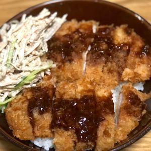 9月21日 夕食 ☆デミカツ丼