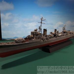 フジミ 1/350 艦NEXT 日本海軍 駆逐艦 雪風 完成