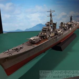 フジミ 1/350 艦NEXT 日本海軍 駆逐艦 島風 乗員を乗せて