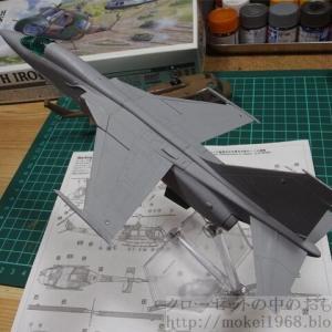 プラッツ 1/72 航空自衛隊 支援戦闘機 三菱F-1 その2