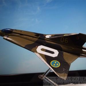 ハセガワ 1/72 サーブ J-35F ドラケン 完成