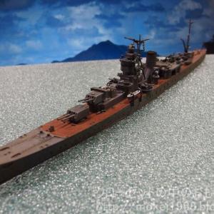 タミヤ 1/700 日本海軍 軽巡洋艦 矢矧 完成