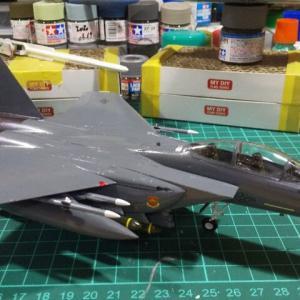 ハセガワ 1/72 F-15Eストライクイーグル デカールのち武装