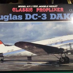 童友社 1/100 ダグラス DC-3 DAKOTA
