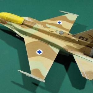 ハセガワ 1/72 イスラエル空軍 F-16I デカール