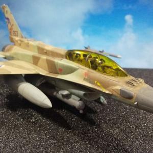 ハセガワ 1/72 イスラエル空軍 F-16I スーファ完成