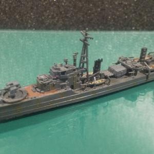 ヤマシタホビー 1/700 日本海軍 松型駆逐艦 竹 完成へ
