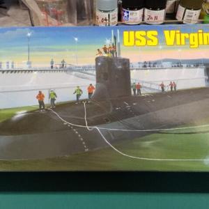 ホビーボス 1/350 米海軍 攻撃型原子力潜水艦 バージニア