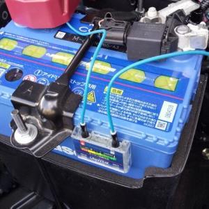 トヨタ ライズ パナソニックカオスバッテリーに交換