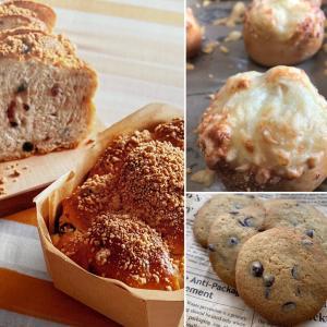 1DAY  LESSONのご案内☆ベリーヨーグルト&くるみとチーズのパン&ソフトクッキー