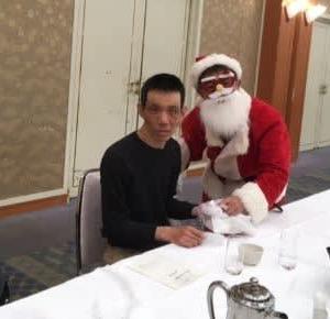 今年最後の行事「クリスマス会」