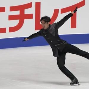 髙橋大輔 シングル最後の公式練習、最後の4回転ジャンプ。